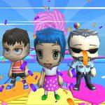 Fall Guys And Girls Chibi Race Knockdown Multiplay